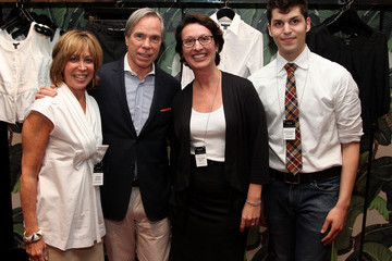 Debra Malbin Tommy Hilfiger Hosts YMA Fashion Scholarship Fund (FSF) 2010 Intern Social