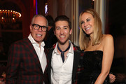 Tommy Hilfiger, Justin Jesso and Dee Hilfiger attend the Tommy Hilfiger VIP Dinner during the 15th Zurich Film Festival on October 04, 2019 in Zurich, Switzerland.