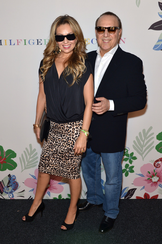 tommy mottola and thalia mottola photos   zimbio