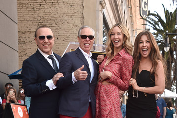 Tommy Hilfiger Tommy Mottola Honored With A Star On The Hollywood Walk Of Fame