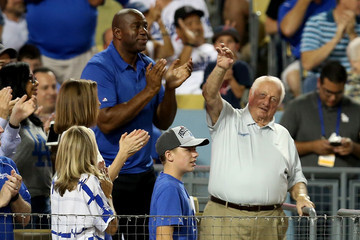 Tommy Lasorda Division Series - New York Mets v Los Angeles Dodgers - Game One