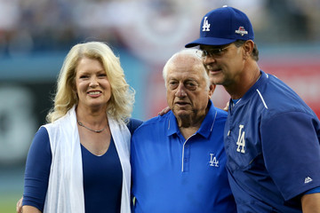 Tommy Lasorda Division Series - New York Mets v Los Angeles Dodgers - Game Two