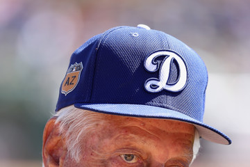 Tommy Lasorda Los Angeles Angels of Anaheim v Los Angeles Dodgers