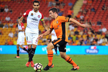 Tommy Oar A-League Rd 17 - Brisbane v Western Sydney
