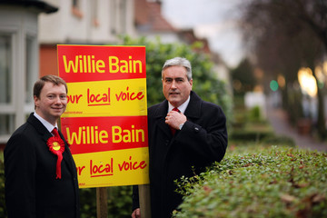 Willie Bain Tommy Sheridan And George Galloway Campaign Ahead Of The By Election