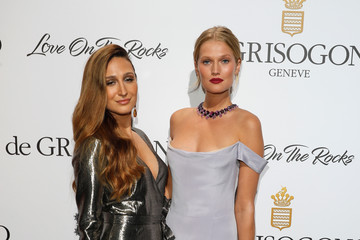 Toni Garrn DeGrisogono 'Love on the Rocks' Party at the 70th Annual Cannes Film Festival