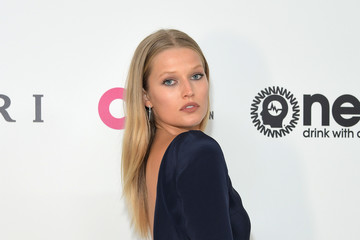 Toni Garrn 25th Annual Elton John AIDS Foundation's Oscar Viewing Party With Cocktails by Clase Azul Tequila and Chopin Vodka