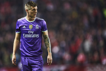Toni Kroos Sevilla v Real Madrid - Copa del Rey: Round of 16 Second Leg