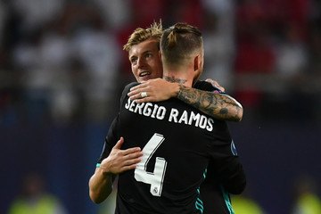 Toni Kroos Real Madrid v Manchester United: UEFA Super Cup