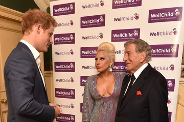 Tony Bennett Prince Harry Attends Lady Gaga and Tony Bennett Gala Concert in Aid of WellChild