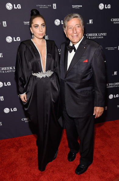 Lady Gaga Tony Bennett Cheek To Cheek