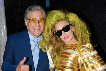 Tony Bennett Backstage at Lady Gaga's Concert