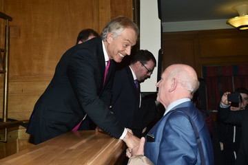 Tony Blair The 20th Anniversary Of The Signing Of The Good Friday Agreement