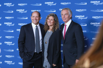 Tony Blair Howard Lutnick Annual Charity Day Hosted By Cantor Fitzgerald, BGC and GFI - Cantor Fitzgerald Office - Inside