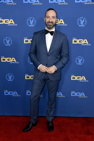 71st Annual Directors Guild Of America Awards - Arrivals [suit,carpet,formal wear,tuxedo,premiere,gentleman,red carpet,event,electric blue,white-collar worker,arrivals,tony hale,directors guild of america awards,hollywood highland center,the ray dolby ballroom,california]