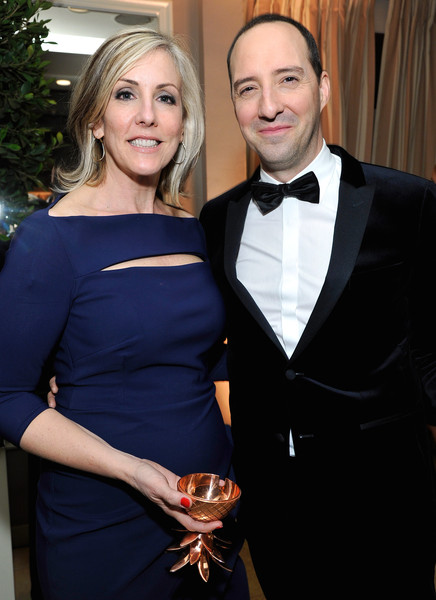 Tony Hale with Wife Martel Thompson