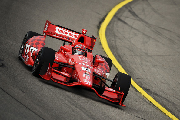 Tony Kanaan - Iowa Corn Indy 300: Day 1