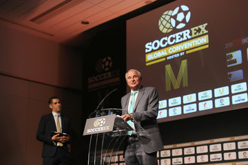 Tony Martin Soccerex Global Convention - Day 1