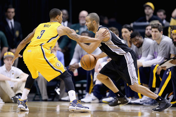 Tony Parker San Antonio Spurs v Indiana Pacers