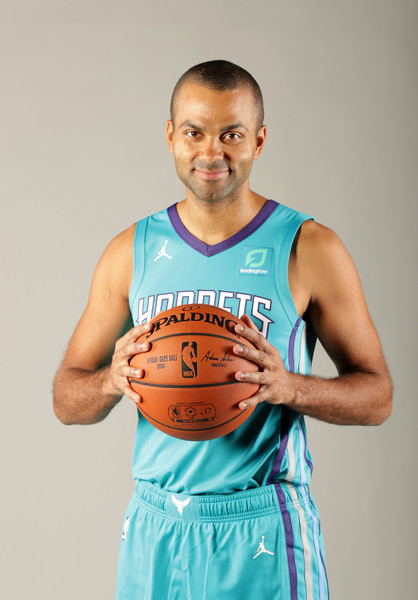 8c4360cbc80 Charlotte Hornets Media Day. Charlotte Hornets Media Day. In This Photo  Tony  Parker. Tony Parker poses for a portrait ...