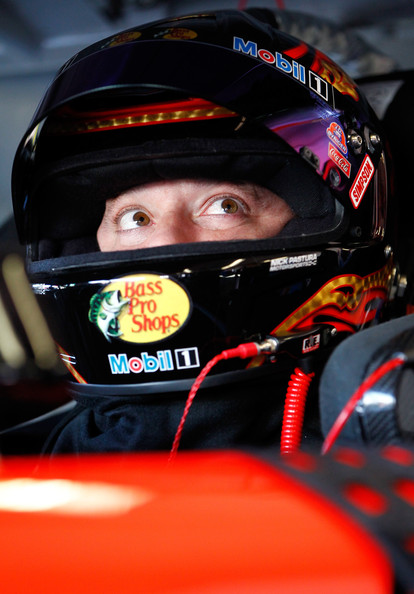 Tony Stewart strapped in and ready to go at Daytona.