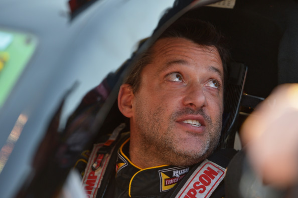 Tony Stewart Gets Ready To Race