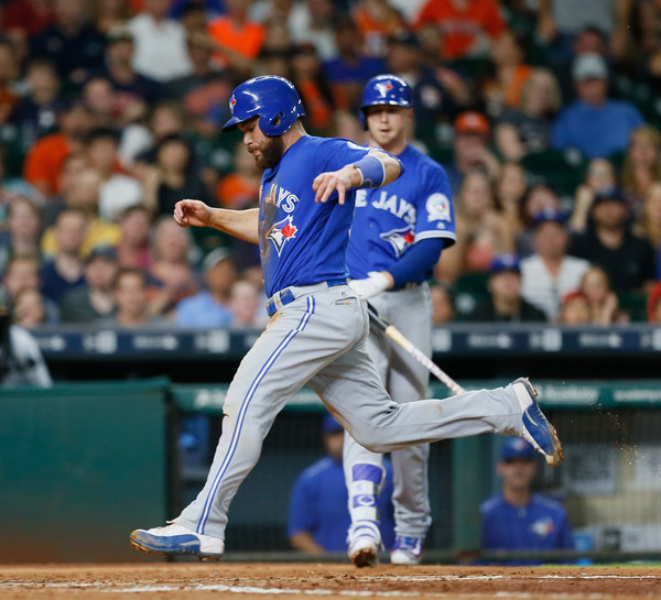 Mike Fiers Valbuena: Russell Martin In Toronto Blue Jays V Houston Astros