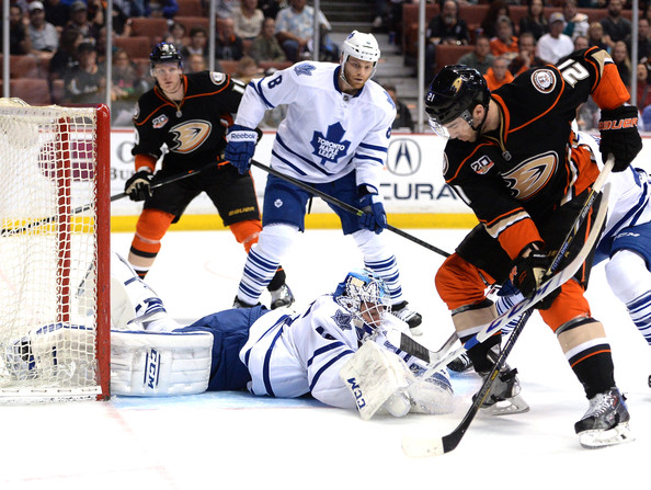 Toronto+Maple+Leafs+v+Anaheim+Ducks+VZBi