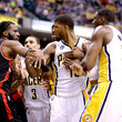 DeMarre Carroll and Paul George