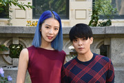 Irene Kim (L) and Amber J. Liu attend the Tory Burch Spring Summer 2018 Fashion Show at Cooper Hewitt, Smithsonian Design Museum on September 8, 2017 in New York City.