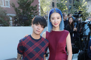 Amber J. Liu (L) and Irene Kim attends the Tory Burch Spring Summer 2018 Fashion Show at Cooper Hewitt, Smithsonian Design Museum on September 8, 2017 in New York City.