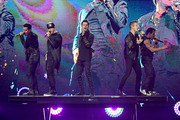 The Total Package Tour With New Kids On The Block, Paula Abdul And Boyz II Men In Las Vegas