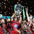 Jonny Wilkinson Photos - Jonny Wilkinson the Toulon captain, raises the Heineken Cup as his team mates celebrate after their victory during the Heineken Cup Final between Toulon and Saracens at the Millennium Stadium on May 24, 2014 in Cardiff, United Kingdom. - Toulon v Saracens - Heineken Cup Final