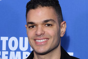 """Hatem Ben Arfa attends the """"Toute Ressemblance"""" photocall At UGC Cine Cite Les Halles on November 25, 2019 in Paris, France."""