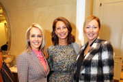 Meredith Land, Christy Turlington Burns, and Jeny Bania at the Town & Country Third Annual Philanthropy Series: Dallas at Hotel Crescent Court on October 29, 2019 in Dallas, Texas.
