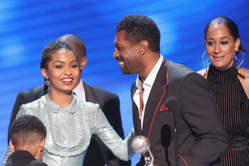 Tracee Ellis Ross Miles Brown 48th NAACP Image Awards -  Show