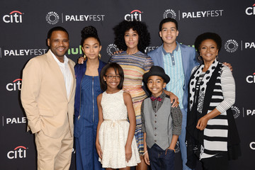 Tracee Ellis Ross Miles Brown The Paley Center for Media's 33rd Annual PaleyFest Los Angeles - 'Black-ish' - Arrivals