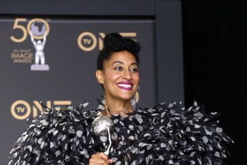 Tracee Ellis Ross 50th NAACP Image Awards - Press Room