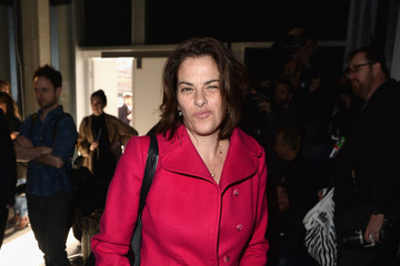 Tracey Emin Front Row & Celebrities: Day 5 - LFW AW16