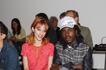 Tracy Antonopoulos MBFW: Front Row at Timo Weiland Women's