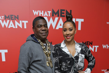 Tracy Morgan Megan Wollover 'What Men Want' New York Special Screening