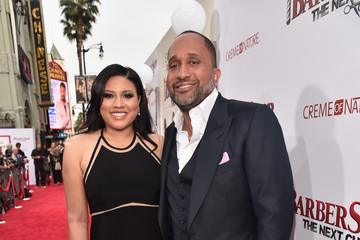Tracy Oliver Premiere of New Line Cinema's 'Barbershop: The Next Cut' - Red Carpet