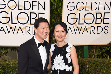 Tran Jeong 73rd Annual Golden Globe Awards - Arrivals