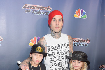 Travis Barker 'America's Got Talent' Season 9 Finale Red Carpet