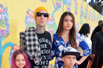Travis Barker Nickelodeon's 27th Annual Kids' Choice Awards - Red Carpet