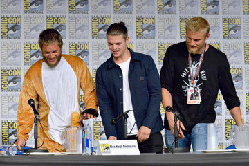 Travis Fimmel SDCC Panel With the Cast and Creator of 'Vikings'