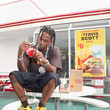 Travis Scott Travis Scott Surprises crew and customers at McDonald's for the Launch of The Travis Scott Meal