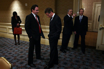 George Papaconstantinou Treasury Secretary Geithner Meets With Greek Prime Minister