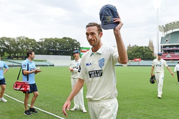 Trent Copeland SA v NSW - Sheffield Shield: Day 1