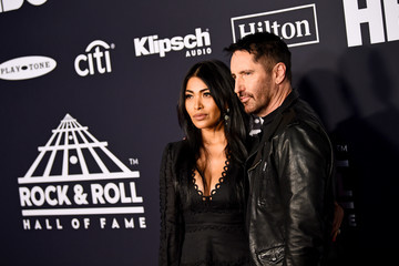 Trent Reznor 2019 Rock & Roll Hall Of Fame Induction Ceremony - Arrivals